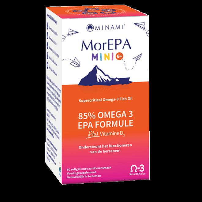MorEPA Mini Junior 60 softgels - vanaf 6 jaar