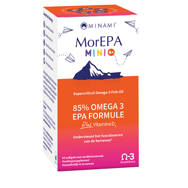 MorEPA Mini Junior 60 softgels