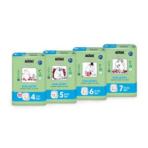 Muumi Baby Eco Muumi Luierbroekjes - Maat 4 - 7-11 kg - 40st