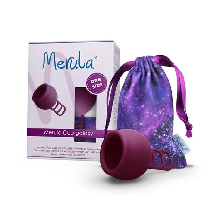 Menstruatiecup Galaxy - Paars - One Size - 1st