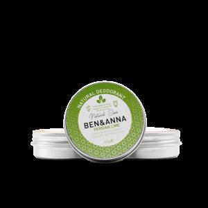Ben & Anna Natural Deodorant - Persian Lime - Jar - 45gr