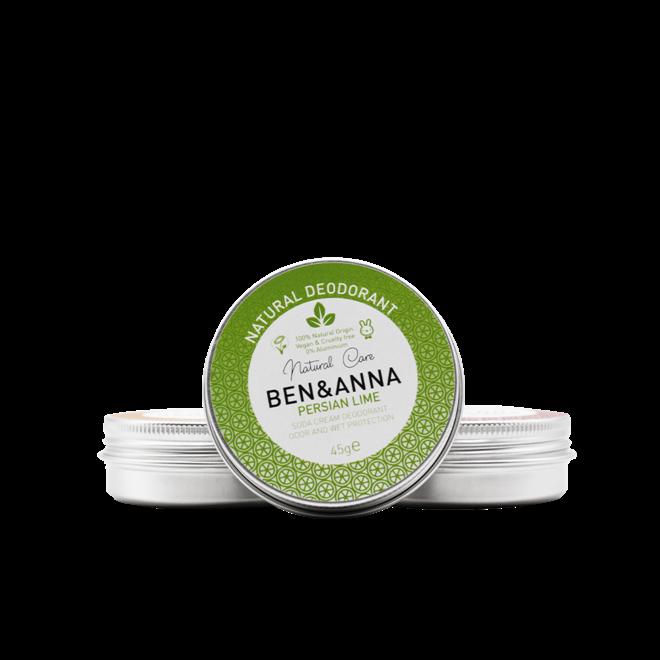 Natural Deodorant - Persian Lime - Jar - 45gr