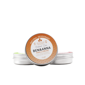 Ben & Anna Natural Deodorant - Vanilla Orchid - Jar - 45gr