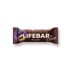 Lifebar InChoco Pruim RAW - 40g - BIO
