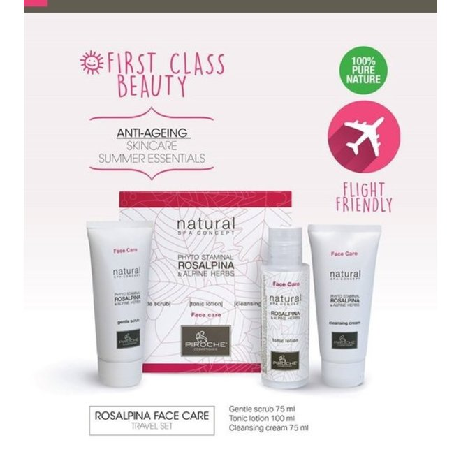 Face Care - Gentle Scrub Rosalpina