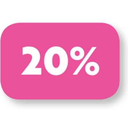 Mix & Match 20% korting
