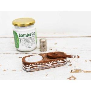 Bambu Salz Bamboezout - 1x gebrand - Zeer fijn - 110gr