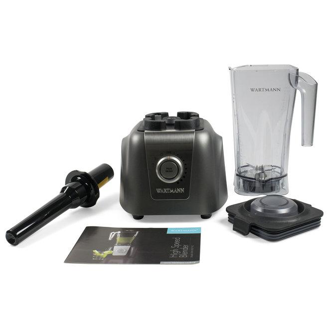 High-Speed Blender WM-1807 HS - Antraciet - Nu met gratis Santoku mes twv €59,95