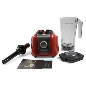 Wartmann High-Speed Blender WM-1807 HS - Rood