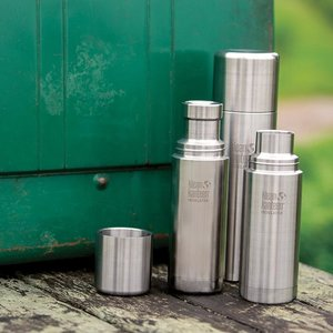 Klean Kanteen RVS thermosfles - Brushed Stainless Steel - 750ml