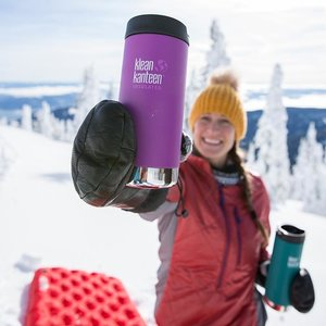 Klean Kanteen Thermosbeker lekvrij - Shale Black - 473ml