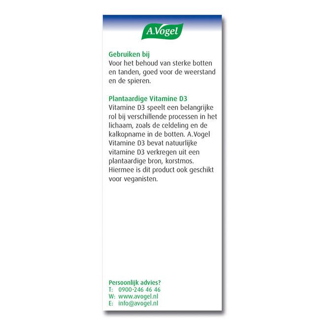 Vitamine D3 25ug - 100 tabletten