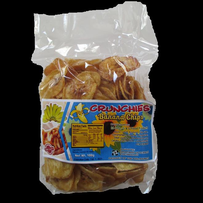 Bananenchips met Honing - 100g