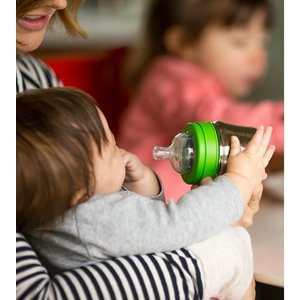 Klean Kanteen RVS babyfles - BPA vrij - Medium Flow - 266ml
