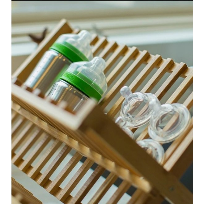 RVS babyfles - BPA vrij - Medium Flow - 266ml