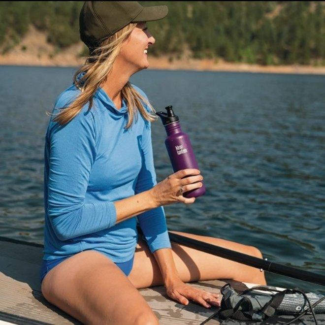 RVS Bidon / Drinkfles - Classic Sport Cap - Coastal Waters - 800ml
