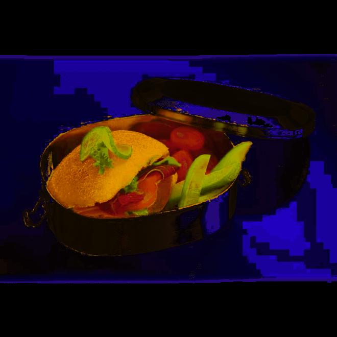 RVS broodtrommel klein