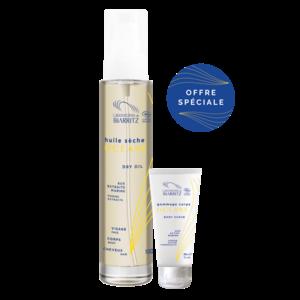 Océane Promo-Pack - 100ml Dry Oil - incl. 30ml Body Scrub