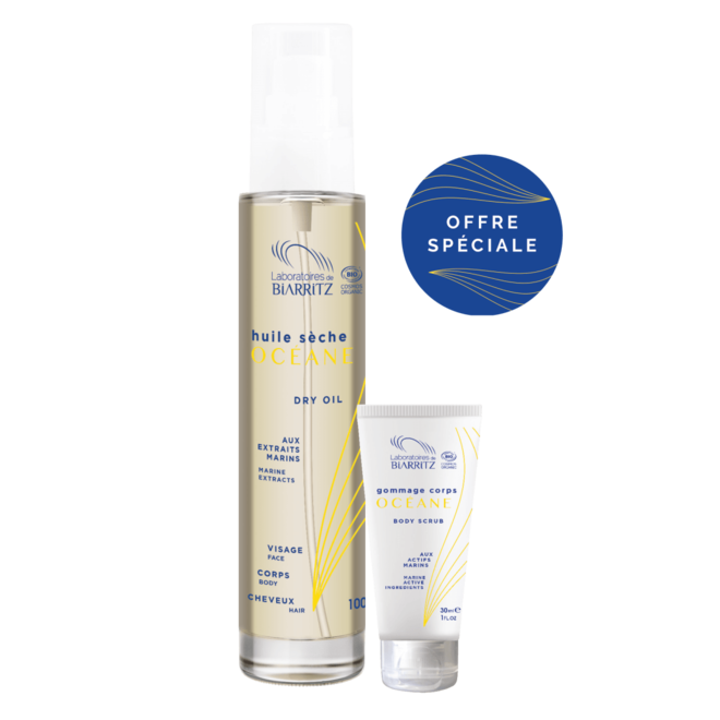 Promo-Pack - 100ml Dry Oil - incl. 30ml Body Scrub