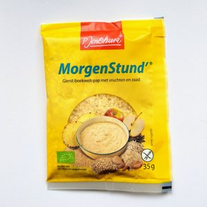P. Jentschura Gierst Boekweit Pap met vruchten en zaden - MorgenStund (monstersachet) - 35g - BIO