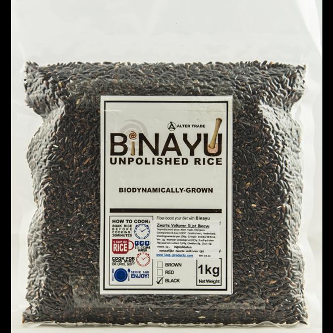 Zwarte Volkoren Rijst - 1kg