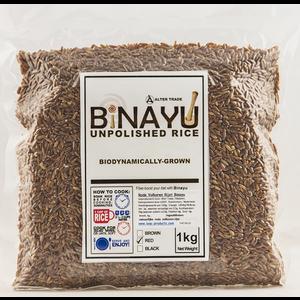 Binayu Rode Volkoren Rijst - 1kg