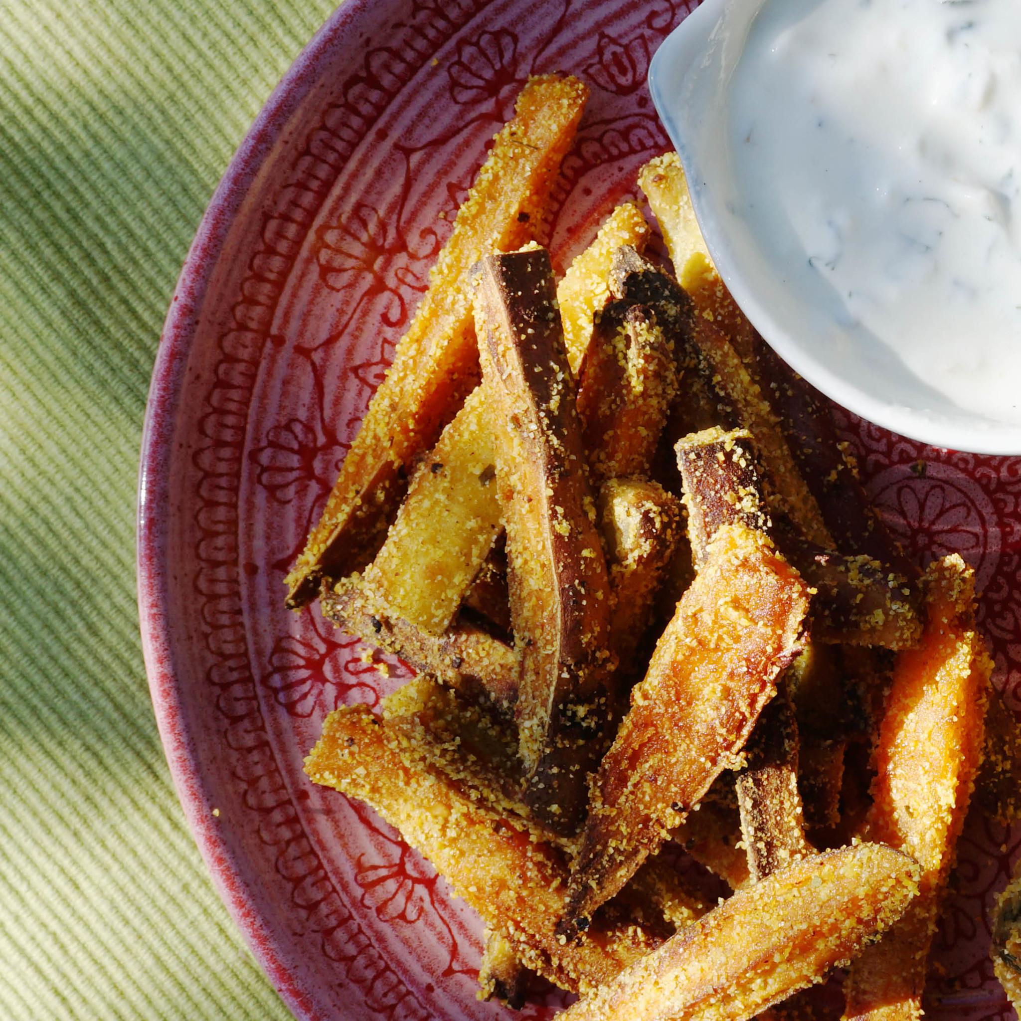 Recept zoete aardappelfriet uit de oven