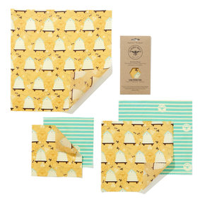 The Beeswax Wrap Co. Large Kitchen Pack - 5st