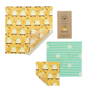 The Beeswax Wrap Co. Medium Kitchen Pack - 3st
