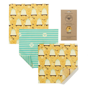 The Beeswax Wrap Co. Medium Cheese Pack - 3st