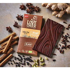 Lovechock Indian Chai Creamy - 70g - BIO
