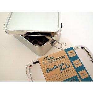 ECOlunchbox Bento Wet Box Large Rectangle - 1200ml