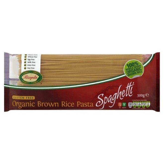 Bruine rijst Spaghetti - 500gr - BIO