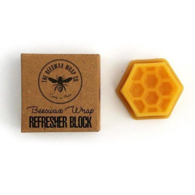 Beeswax wrap opfrisblok