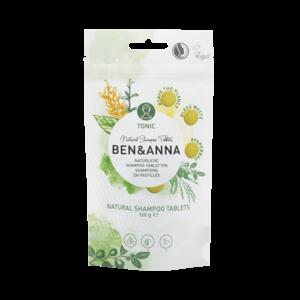 Ben & Anna Natuurlijke shampoo tabletten Tonic - 120g