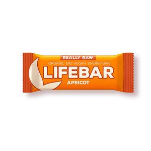 Lifebar Energiereep Abrikoos RAW - 47g - BIO