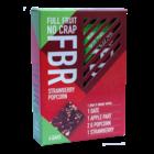 Fruitreep met Aardbeismaak en Popcorn - (4st) 120g