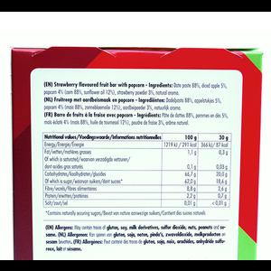 FBR Fruitreep met aardbeismaak en popcorn - 4-pack