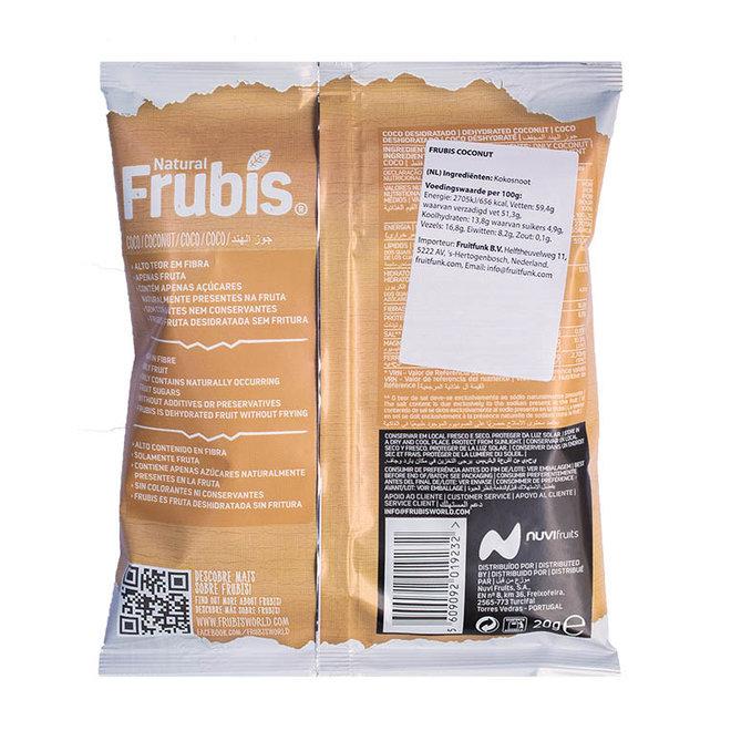 Coconut Fruitchips - 20g - THT 1-7-2021
