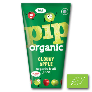 Pip Organic Juice Cloudy Apple - 4x180ml - BIO
