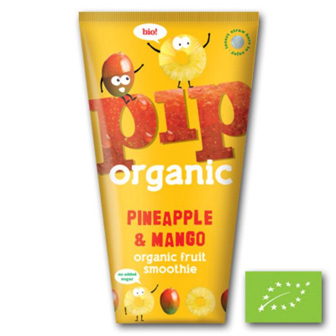 Smoothie - Pineapple & Mango - 4x180ml - BIO
