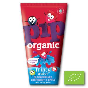 Pip Organic Fruity Water - Blackcurrant, Raspberry & Apple - 4x200ml - BIO