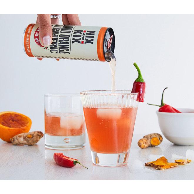 Frisdrank Blood Orange-Tumeric - 250ml