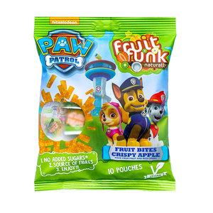 Fruitfunk Paw Patrol Uitdeelzak Crispy Apple - (10 zakjes) 100g