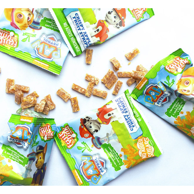Paw Patrol Uitdeelzak Crispy Apple - (10 zakjes) 100g