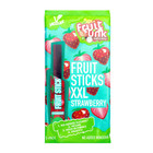 Fruit sticks XXL Aardbei - (5st) 100g