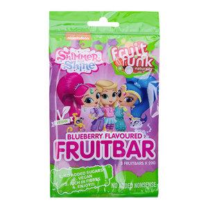 Fruitfunk Shimmer & Shine Schoolbars Bosbessensmaak - (3 repen) 60g