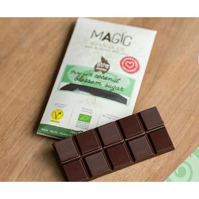 Hocus Pocus Pure Belgische Chocolade 60% - 44g - BIO