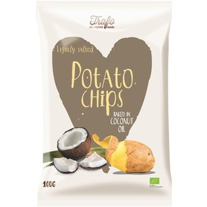 Trafo Chips gebakken in kokosolie 100g - BIO