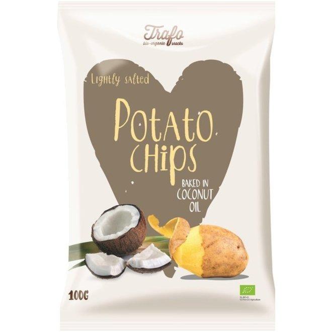 Chips gebakken in kokosolie 100g - BIO